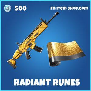 Radiant Runes rare fortnite wrap
