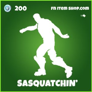 Sasquatchin' uncommon fortnite emote
