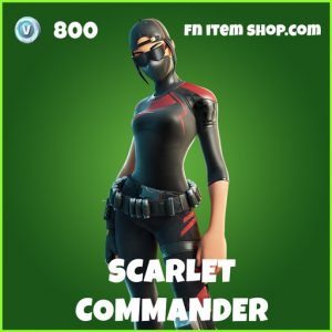 Scarlet Commander uncommon fortnite skin
