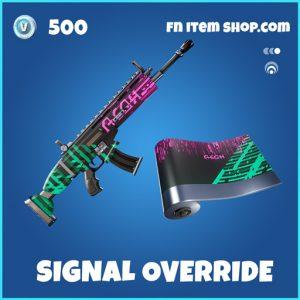 Signal Override rare fortnite wrap