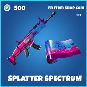 Splatter Spectrum rare fortntie wrap