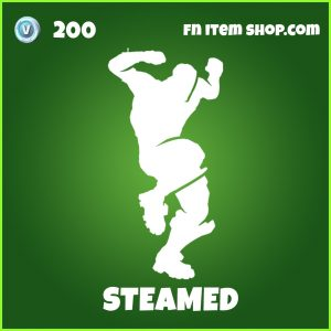 Steamed uncommon fortnite emote