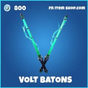 Volt Batons rare fortnite pickxaxe