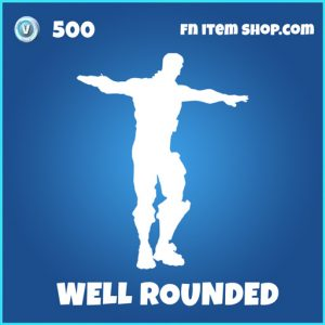 Well Rounded rare fortnite emote
