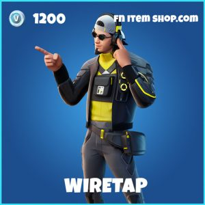Wiretap rare fortnite skin