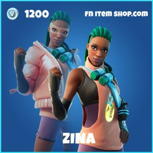 Zina rare fortnite skin