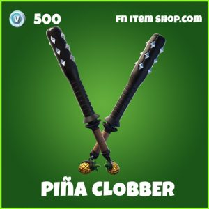 Piña Clobbe uncommon fortnite pickaxe