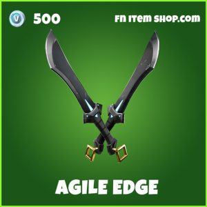 Agile Edge uncommon fortnite pickaxe