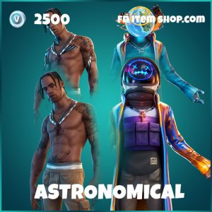 Astronomical travis scott bundle fortnite