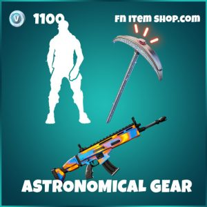 Astronomical Gear travis scott bundle fortnite