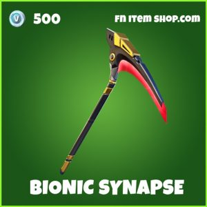 Bionic Synapse uncommon fortnite pickaxe
