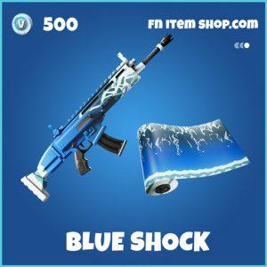 Blue shock rare fortnite wrap
