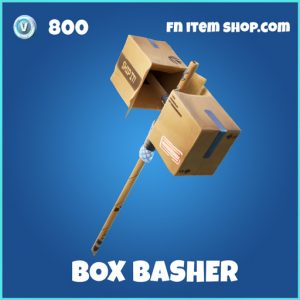 Box Basher rare fortnite pickaxe