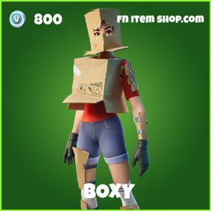 Boxy uncommon fortnite skin