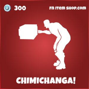 Chimichanga! fortnite deadpool emote