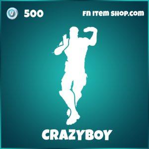 Crazyboy emote fortnite