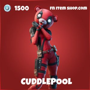Cuddlepool fortnite deadpool fortnite marvel skin