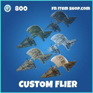 Custom Flier rare fortnite glider