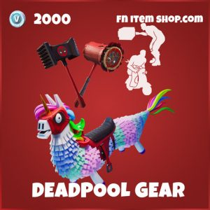 Deadpool gear bundle legendary fortnite marvel bundle