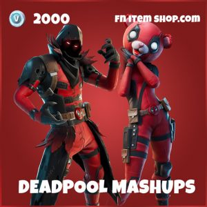 Cuddlepool Ravenpool Deadpool mashups fortnite deadpool skins