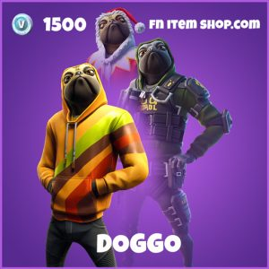 Doggo epic fortnite skin
