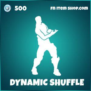 Dynamic Shuffle icon series fortnite emote
