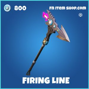 Firing Line rare fortnite pickaxe