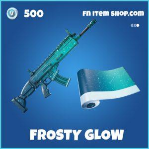 Frosty Glow rare fortnite wrap