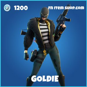 Goldie rare fortnite skin