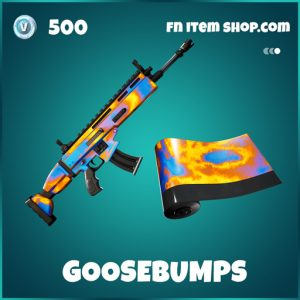 Goosebumps icon travis scott wrap