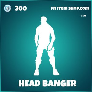 Head Banger emote fortnite icon