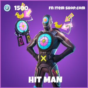 Hit Man epic fortnite skin
