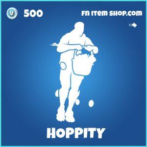 Hoppity rare fortnite emote