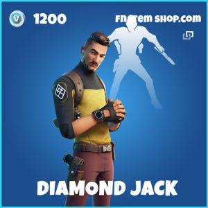 Diamond Jack rare fortnite skin