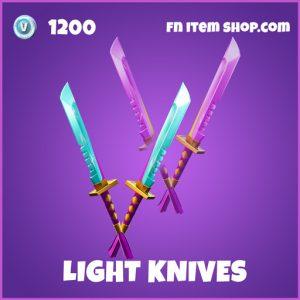 Light Knives epic fortnite pickaxe