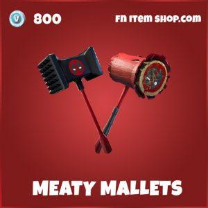 Meaty Mallets deadpool pickaxe fortnite