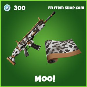 Moo! uncommon fortnite wrap