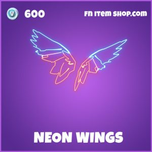 Neon wings epic fortnite backbling backpack