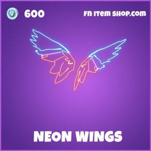 Neon wings epic fortnite backbling backpack