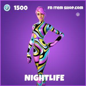 Nightlife epic fortnite skin
