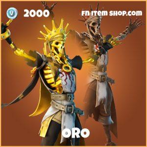 Oro Fade legendary fortnite skin