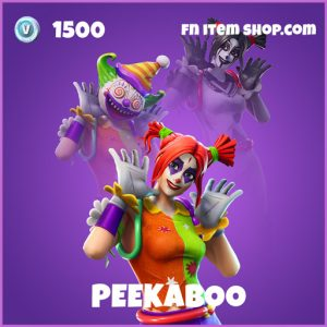 Peekaboo epic fortnite skin