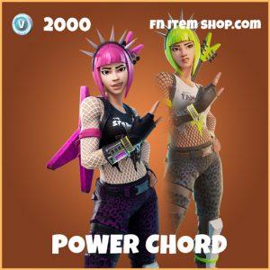 power chord legendary skin fortnite