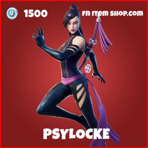Psylocke epic fortnite marvel skin