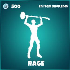 Rage travis scott epic icon series fortnite emote
