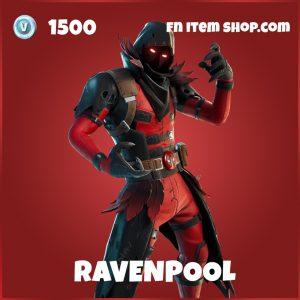 Ravenpool deadpool fortnite skin