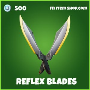 Reflex blades uncommon fortnite pickaxe