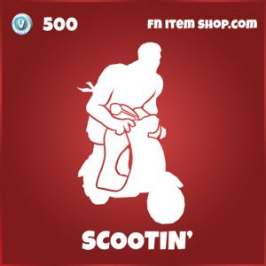 Scootin' fortnite deadpool emote