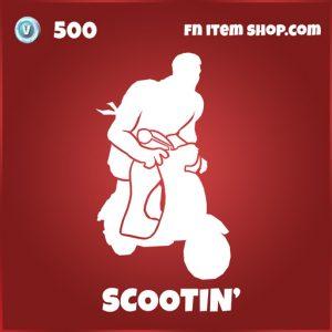 Scootin' fortnite deadpool emote