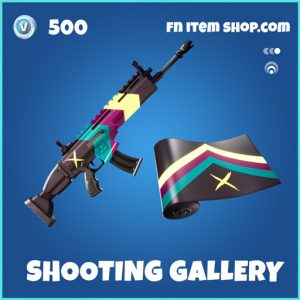 Shooting Gallery rare fortnite wrap